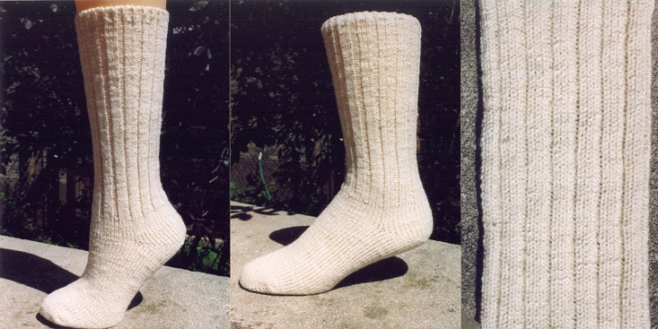 Classic Socks - Eyelets and Lace