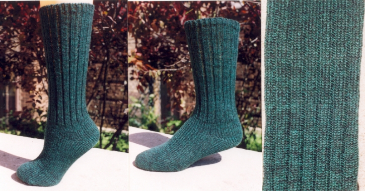 Classic Socks - Emerald Green