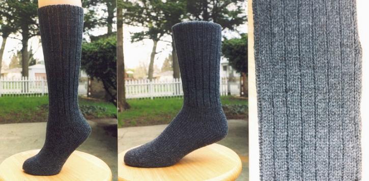 Classic Socks - Stately Grey