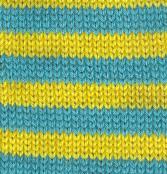 Pippi Longstockings - Teal & Yellow