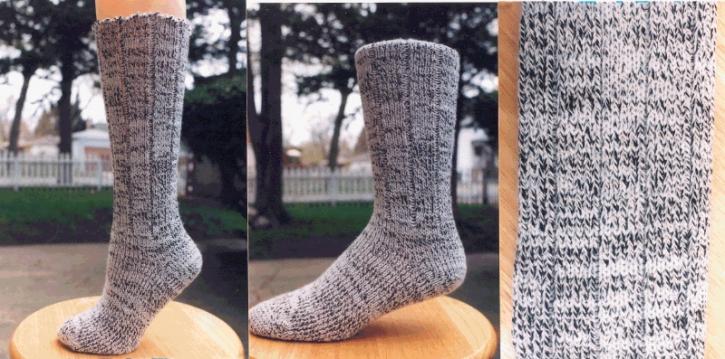 Classic Socks - Salt & Pepper