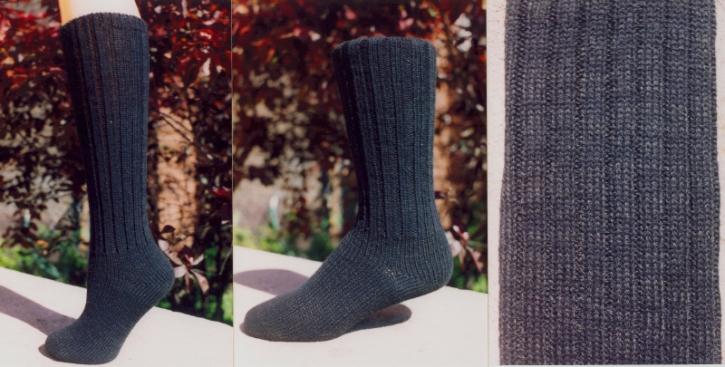 Classic Socks - Silky Black Kat